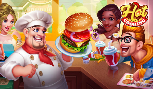 screenshot of Cooking Hot - Crazy Chef's Kitchen Cooking Games version 1.0.7
