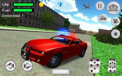 screenshot of Cop simulator: Camaro patrol version 1.0