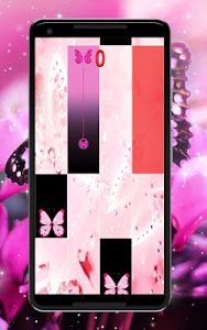 screenshot of Couverture Pink Cute Piano Tiles for girl version 5.2