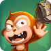 Critter Clash: Monkey Slingshot Battle Game
