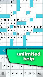 screenshot of Crossword Puzzle Free version 1.0.87-gp