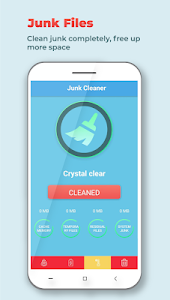 screenshot of Crystal Cleaner - Boost & Clean version 1.3
