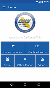 screenshot of CA DMV version 4.0