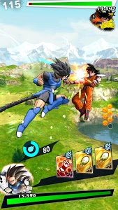 screenshot of DRAGON BALL LEGENDS version 1.16.0