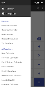 screenshot of ClevCalc - Calculator version 2.16.17