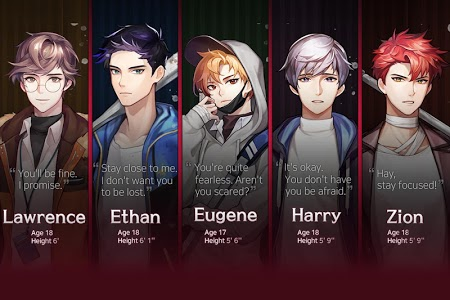 screenshot of Dangerous Fellows - Romantic Thrillers Otome game version 1.2.9