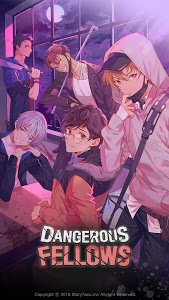 screenshot of Dangerous Fellows - Romantic Thriller Otome game version 1.5.4