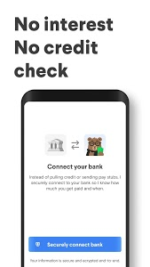 screenshot of Dave - Banking For Humans version 2.14.7