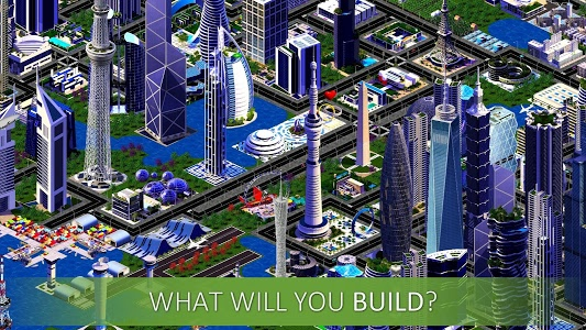 screenshot of Designer City: building game version 1.33