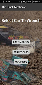 screenshot of Dirt Track Mechanic for iRacing version 3.0