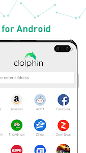 screenshot of Dolphin Browser - Fast, Private & Adblock🐬 version 12.1.5