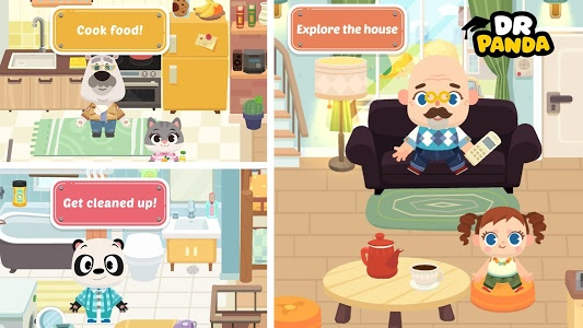 screenshot of Dr. Panda Town version Varies with device