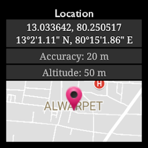 screenshot of Driving Route Finder version 2.3.6.7