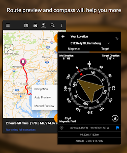 screenshot of Driving Route Finder™ - Find GPS Location & Routes version 2.4.0.3