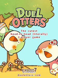 screenshot of Duel Otters version 2.0.1