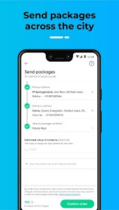 screenshot of Dunzo - 24X7 Delivery: Grocery, Food, Packages version 2.2.1.1