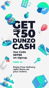 screenshot of Dunzo | Delivery App for Food, Grocery & more version 3.0.0.1