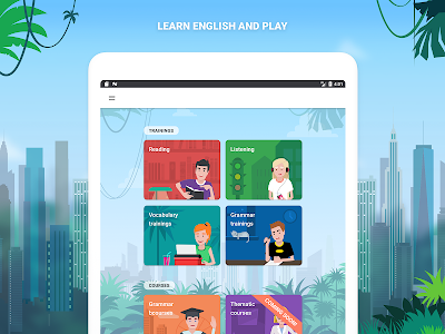 screenshot of English with Lingualeo version 3.1.4.1