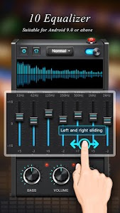 screenshot of Equalizer - Bass Booster & Volume Booster version 1.2.3