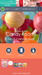 screenshot of Escape Candy Rooms version 2.2