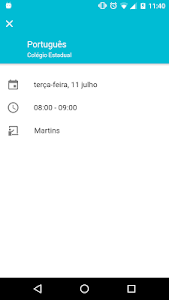 screenshot of Escola Paraná version 1.5.1