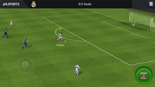 screenshot of FIFA Soccer version 12.6.02