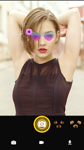 screenshot of Face Live Camera: Photo Emojis, Filters, Stickers version 1.2.6