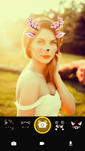 screenshot of Face Live Camera: Photo Filters, Emojis, Stickers version 1.3.3