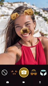screenshot of Face Live Camera: Photo Filters, Emojis, Stickers version 1.5.1