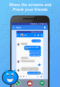 screenshot of Fakenger - Fake chat messages version 1.2.0