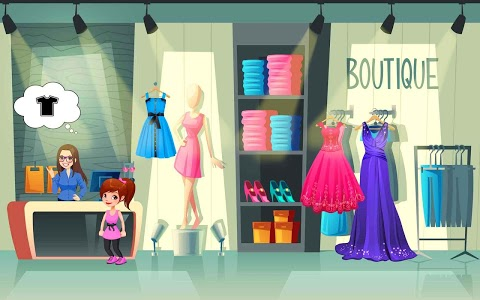 screenshot of Fashion Tailor: Rainbow Dresses Games For Girls version 1.2