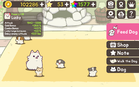 screenshot of FeeDog - Raising Puppies version Varies with device