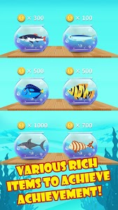 screenshot of Fishing Ocean version 0.2.7
