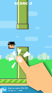 screenshot of Flappy Presidents version 1.5