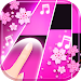 Flower Pink Piano Tiles - Girly Butterfly Songs