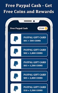 screenshot of Free Paypal Cash - Get Free Coins and Rewards version 1.3