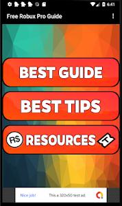 screenshot of Free Robux Pro Guide version 1.0