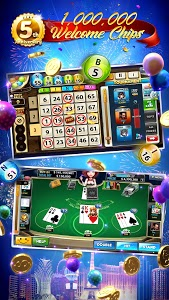 screenshot of Full House Casino - Free Vegas Slots Casino Games version 1.2.97