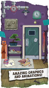 screenshot of Fun Escape Room Puzzles – Can You Escape 100 Doors version 1.02