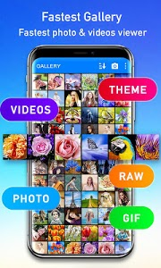 screenshot of Gallery version Varies with device