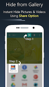 screenshot of Photo Lock App - Hide Pictures & Videos version 40.0