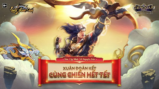 screenshot of Garena Liên Quân Mobile version 1.28.2.2