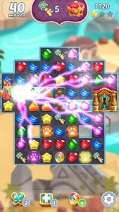 screenshot of Genies & Gems - Jewel & Gem Matching Adventure version 62.47.102.09191734