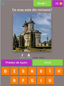screenshot of Ghiceste Orasele Din Romania version 3.1.8z