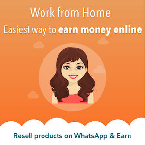 screenshot of Work from Home, Earn Money, Wholesale Price App version 2.0.44