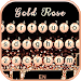 Gold Rose Pearl Luxury Keyboard
