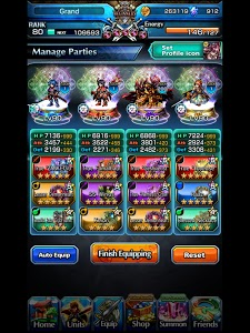 screenshot of Grand Summoners - Anime Action RPG version 3.5.0