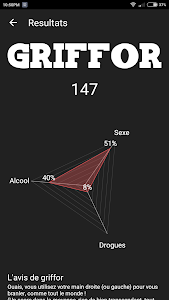 screenshot of Griffor - Purity test version 0.2.5