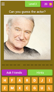 screenshot of Guess the Popular Actor! - Quiz Game version 4.4.0z