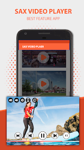screenshot of Sax Video Player & Audio Player – All Format version 1.0.5